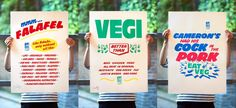 FestiVegi posters for sale from Do The Green Thing and Craig Oldham – Medium