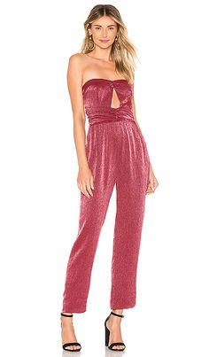 866314051e67fd House of Harlow 1960 x REVOLVE Opal Jumpsuit in Raspberry Red
