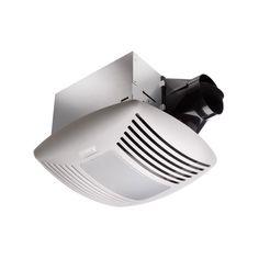 Delta Electronics SIG110DL BreezSignature 80/110 CFM Dual Speed Bathroom Fan with Light and Night-Light