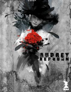 DARK IMAGE - AUDREY HEPBURN by balls