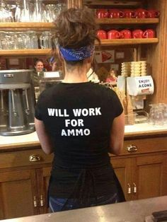 Will work for ammo! #NFDNetwork #2A