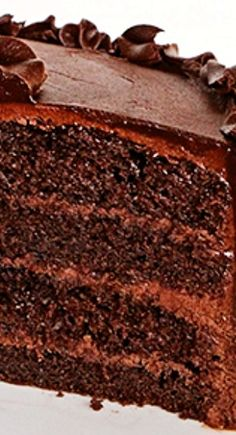 The Perfect Chocolate Cake and Perfect Chocolate Buttercream Frosting Recipe