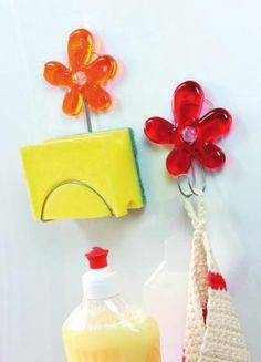 Koziol A-PRIL Wall Hook The power of flowers ... at your home!