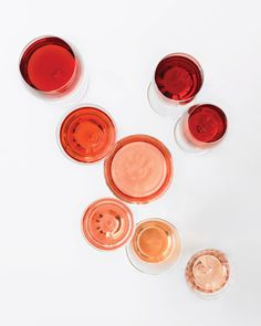 50 shades of rosé