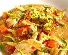 Rezept Rotes Thai Curry von famfuss - Rezept der Kategorie Hauptgerichte mit Fleisch