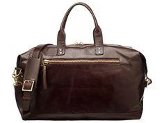 Brixton Leather Overnight Bag - Overnight - Bags - Ernest Alexander