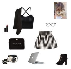 """whistle while you work"" by synclairel ❤ liked on Polyvore featuring Molo, Betsey Johnson, Lipstick Queen, Tom Ford, Speck, Kate Spade, Summer, cute, casual and ootd"