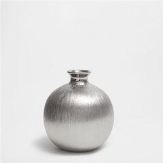 CERAMIC STRIPED VASE - Vases - Decoration | Zara Home United States of America