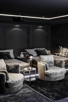 Home Theatre, Home Theater Room Design, Home Theater Rooms, Home Theater Seating, Cinema Room Small, Home Cinema Room, Media Room Decor, Media Room Design, Media Rooms