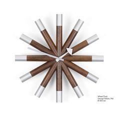 Vitra Wheel Wanduhr Jetzt bestellen unter: https://moebel.ladendirekt.de/dekoration/uhren/wanduhren/?uid=cdfd85ad-2930-5fed-8eef-e9cba992b707&utm_source=pinterest&utm_medium=pin&utm_campaign=boards #uhren #dekoration
