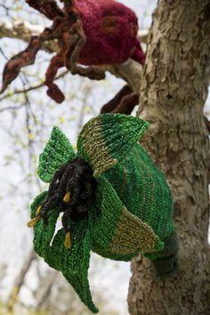 Rosehips The Knit Garden – Amazing Knitted Sculptures #knitted #Sculptures #handmade
