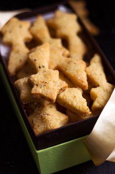 Almond Parmesan Shortbreads   eatwell101.com