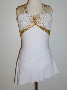 Custom Made to Fit Beautiful Figure Ice Skating Dress | eBay $139.95