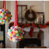 Decorating with candy for Christmas is such a fun way to celebrate the… :: Hometalk