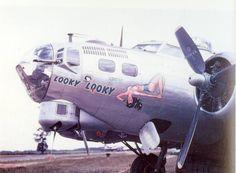"B-17 G "" Looky Looky"" of 851st Bomb Squadron, 490BG"