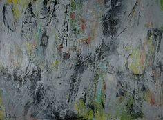 "HOOK LINE and SINKER by Elizabeth LaPenna Acrylic ~ 30"" x 40"""