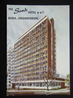 Johannesburg City, South Afrika, Sands Hotel, Cityscapes, Landscape Photography, Skyscraper, Cities, The Past, Hotels