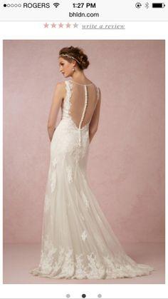 Wedding Dress - Back