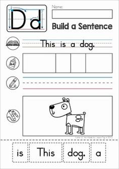 Most Popular Teaching Resources: Phonics Letter of the Week D