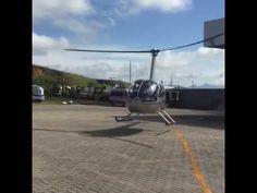 Como estacionar um helicóptero