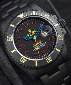 Submariner: In our gallery you will find pictures of all our refined watches! Discover your favourite Blaken® model and order yours today! Relic Watches, Bulova Watches, Armani Watches, Dream Watches, Casual Watches, Sport Watches, Luxury Watches, Cool Watches, Men's Watches