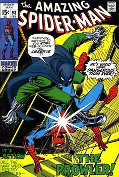 The Amazing Spider-Man #93, February 1971, cover by John Romita.