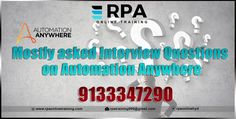 Want To know more about #rpa online training visit us