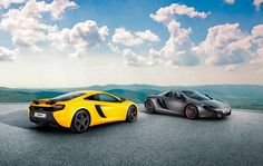 The New Maclaren 625C Coupe & Spider have just been revealed!