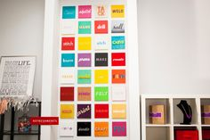 5 Clever Ways to Turn Words into Wall Art. I love words! Cheap Wall Art, Diy Wall Art, Office Wall Art, Office Decor, Office Ideas, Cross Stitch Fabric, This Is Your Life, Diy Workshop, Colorful Wall Art