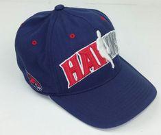 Adidas Atlanta Hawks Fitted Hat Size L XL Navy Blue Climal NBA Basketball  Team  adidas 05940d541f13