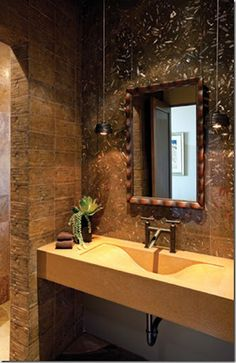 Unique bathroom idea