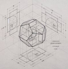 how the golden ratio lies embedded in the platonic solids