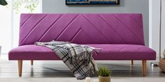 Buy Vatican Sofa Cum Bed in Pale Purple Colour by Bantia Furniture Online - Convertible Fabric Sofa Cum Beds - Sofa Cum Beds - Furniture - Pepperfry Product Solid Wood Furniture, Funky Furniture, Upholstered Furniture, Bed Furniture, Online Furniture, Buy Fabric, Fabric Sofa, Purple Sofa, Buy Sofa
