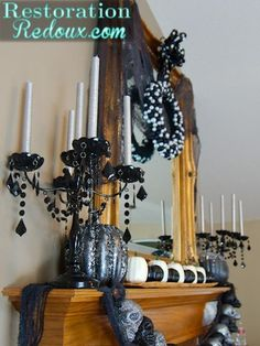 Fun Halloween Home Tour by Restoration Redoux