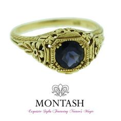 #Iolite is a #blue #gemstone which is light to deep blue and usually has a purplish tinge to it! #montashjewellerydesign