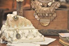 We love jewelry that has been inspired by ancient heirlooms. These pieces make you feel as if you're just a part of their story.