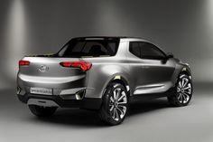 Hyundai confirma picape Santa Cruz, SUV compacto Kona e novos Santa Fe e Tucson