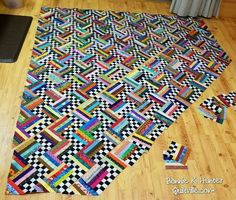 Image result for pineapple crazy quilt pattern