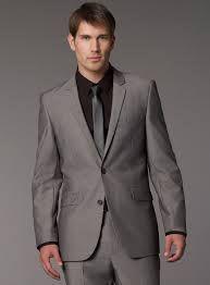 grey suit black shirt - Google Search | Perfect Wedding ...