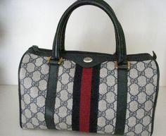 Vintage Gucci Boston Bag.