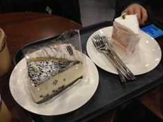 lovely cakes @starbucks