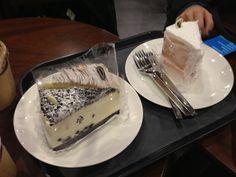 lovely cakes @starbucks