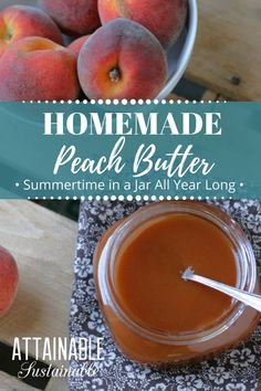 Garden Flowers - Annuals Or Perennials This Peach Butter Is Easy To Make And Captures The Flavor Of Summer In A Jar. Spread It On Your Breakfast Pancakes, On Toast, Or On A Chicken Breast For Dinner. Canning Tips, Canning Recipes, Peach Butter, Canning Peaches, Butter Recipe, Flavored Butter, Homemade Butter, Breakfast Pancakes, Preserving Food
