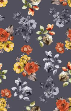 Print Wallpaper, Mobile Wallpaper, Pattern Wallpaper, Iphone Wallpaper, Apple Watch Wallpaper, Flower Backgrounds, Floral Illustrations, Background Patterns, Flower Art