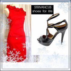 www.evacardona.com red dress @strivancus shoes