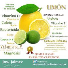Beneficios del milagroso limón.