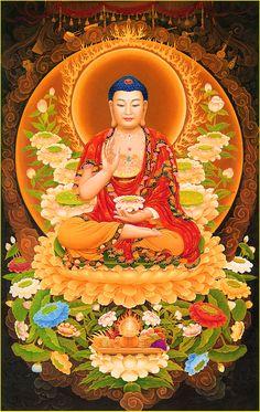 Iphone Wallpaper Green, Amitabha Buddha, Mahayana Buddhism, Buddha Life, Mandala, Buddha Temple, Dragon Pictures, Goddess Art, Mark Rothko
