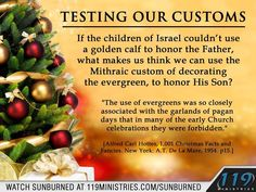 Testing our customs 119 Ministries, Golden Calf, Bible Topics, Christian Holidays, Seventh Day Adventist, Christian Pictures, Old And New Testament, Lion Of Judah, King James Bible