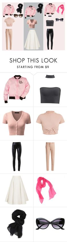 """Pink Ladies"" by michellekayla ❤ liked on Polyvore featuring Helmut Lang, Roland Mouret, Roksanda, SW Global and Thierry Lasry"