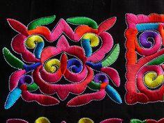 Čínsko-tribal-Miao-hmong-machinemade-výšivky-Mystery-ružové štvorcov